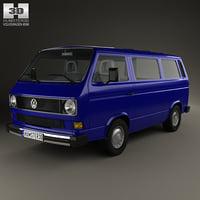 Volkswagen Transporter (T3) Passenger Van 1990