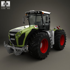 claas xerion trac model