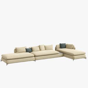 3D alicia sofa dux architonic model