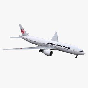777-200 jal model