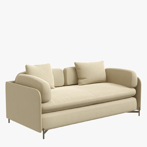 3D alicia sofa 2 seater