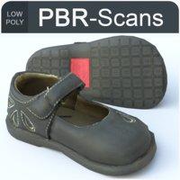 3D model 128 shoe