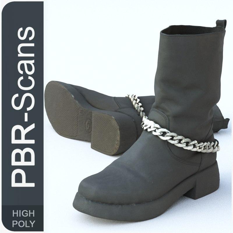 3D 139 boot hi