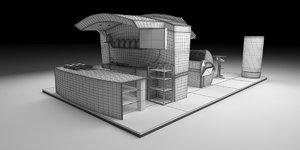 fair bakery 3D model