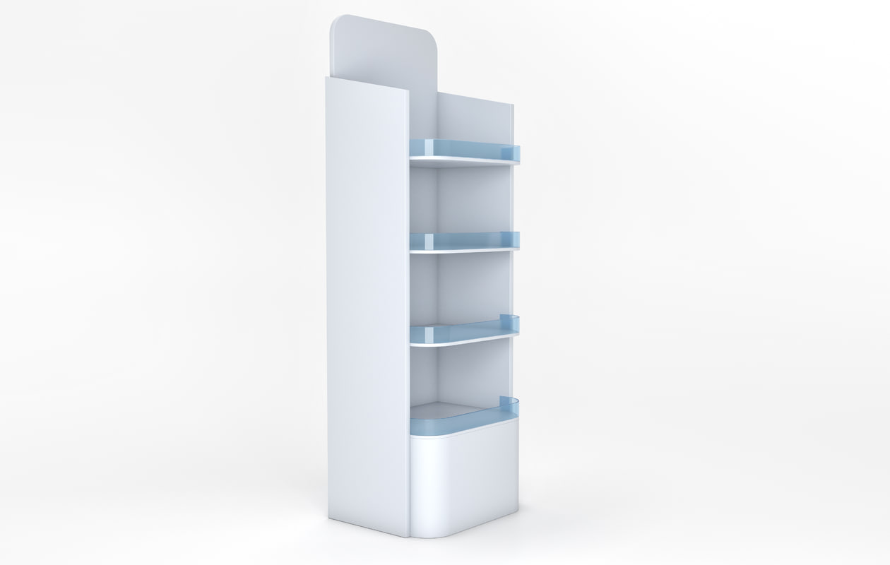 store shelves stand model