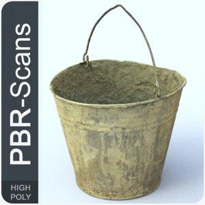 3D 154 bucket hi model