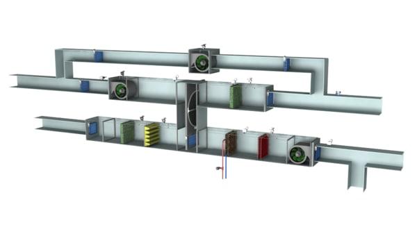 3D energy recovery unit eru