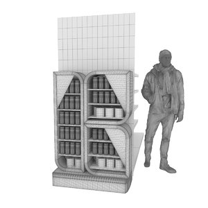 3D model exhibitor products