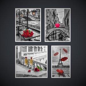 photo frames contemporary photographers 3D