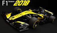 F1 Renault RS18 2018
