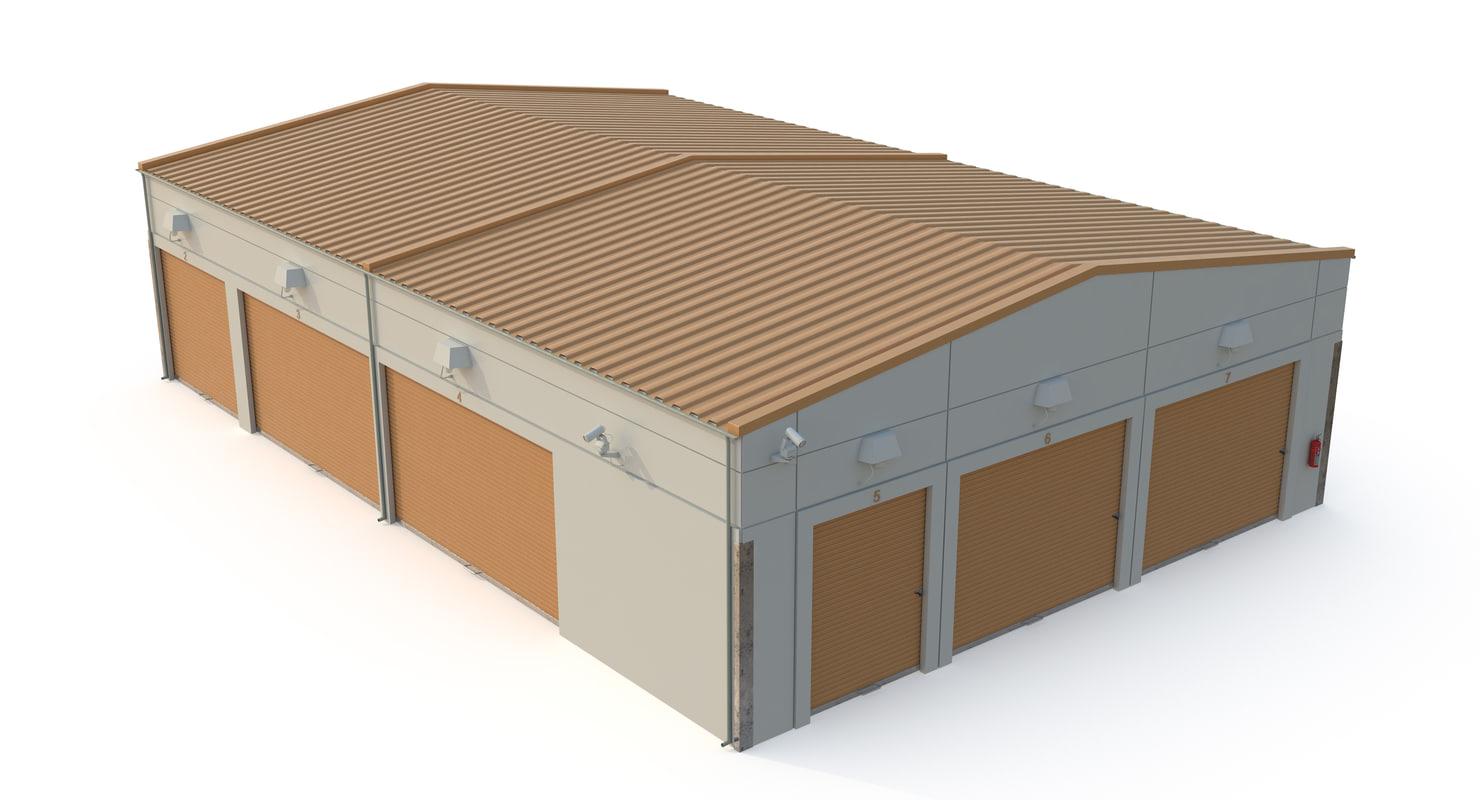 3D storage units
