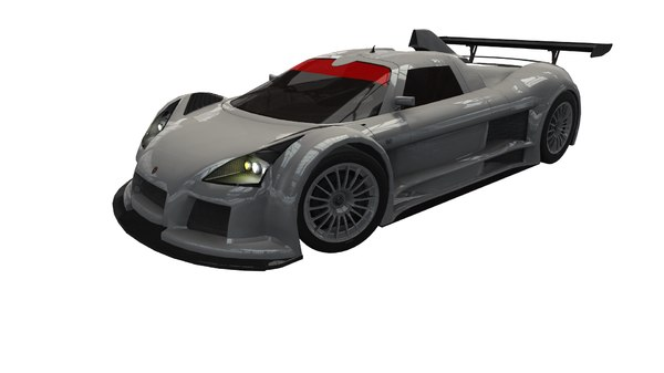 gumpert apollo gt 3D model