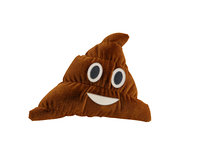 3D poo emoticon pillow
