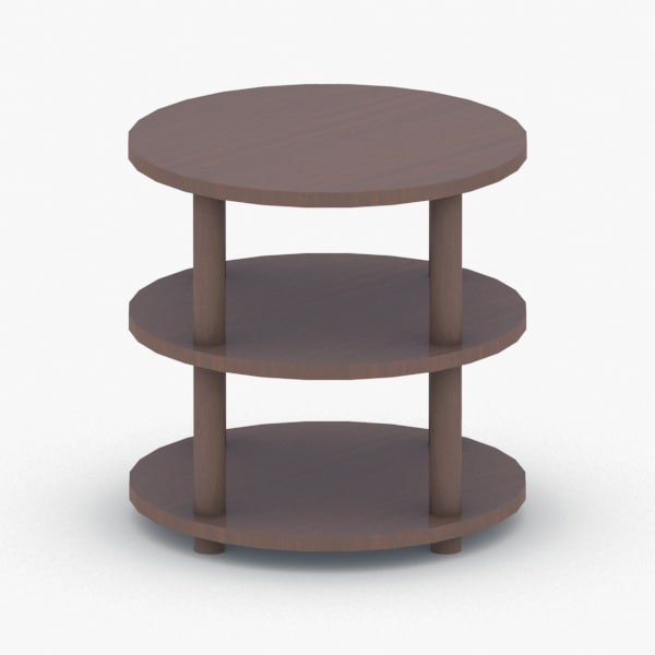 3D - chair table