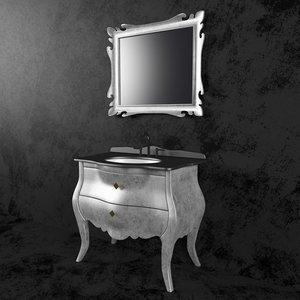 washbasin godi ns-07 3D model