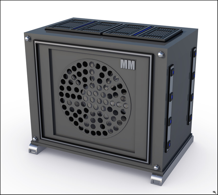 computer fan 3D