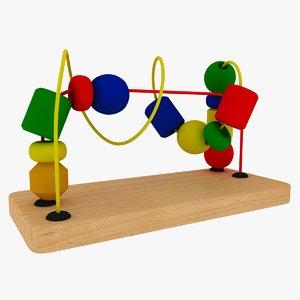 3D wire toy