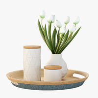 3D pretty table model