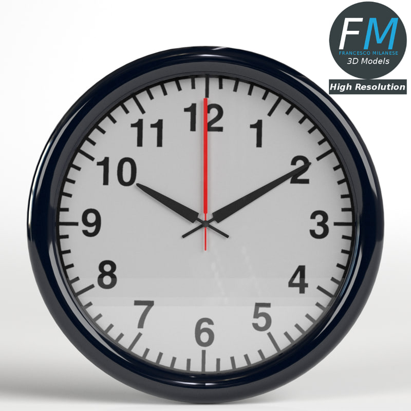 wall clock office hr model