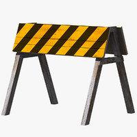 3D barrier