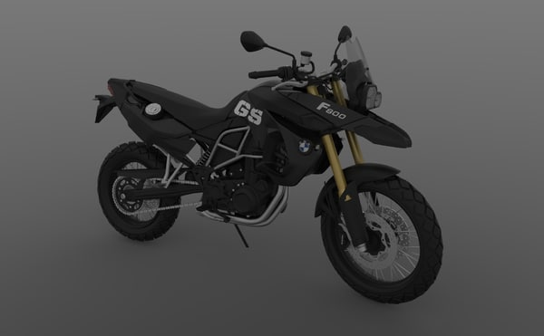 3D model f800gs black edition