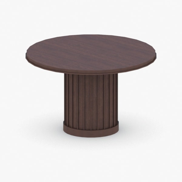 - chair table 3D model