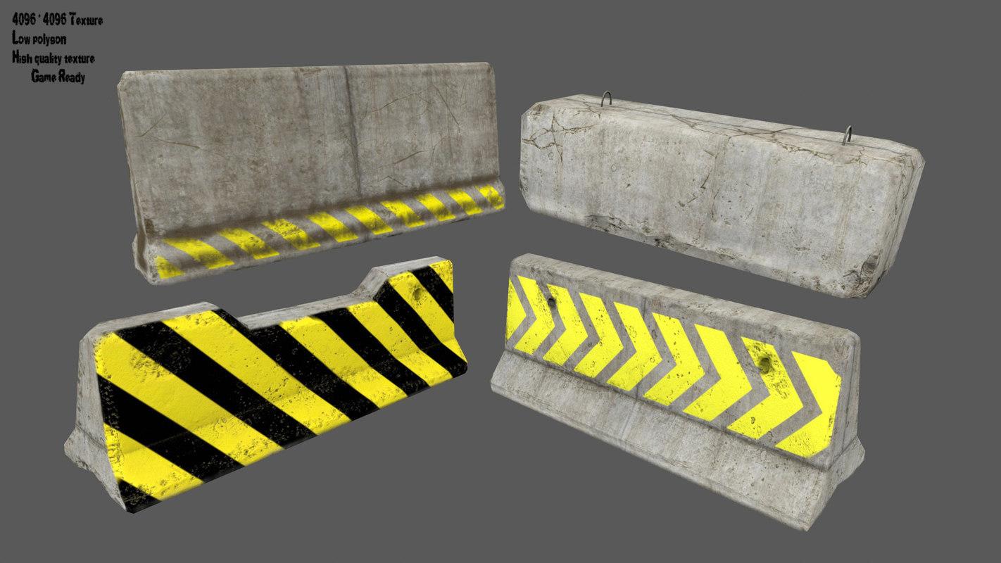 barrier 7 3D