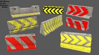 3D barrier 6 model