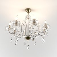 3D chandelier sylom model