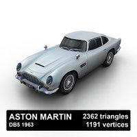 1963 aston martin db5 3D