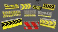 3D barrier 3