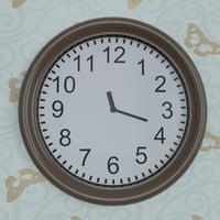 3D set wall clocks model