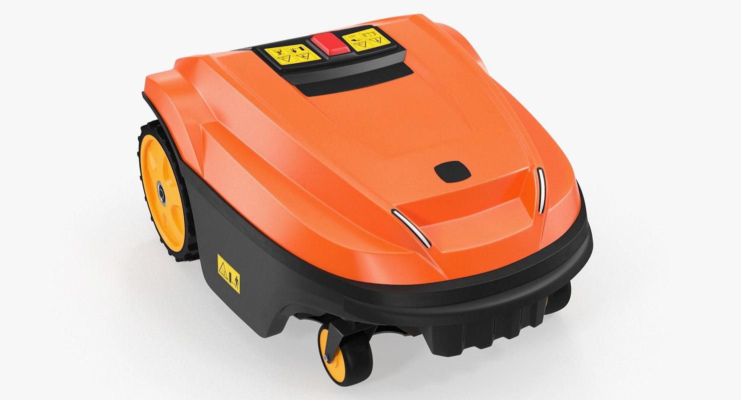 Automatic Robotic Lawn Mower 3d Model Turbosquid 1259575
