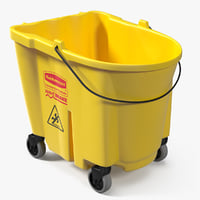 3D bucket trolley model
