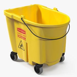 3D bucket trolley model