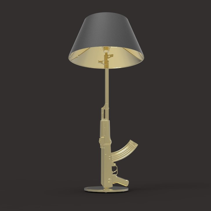 3D provocative table lamp