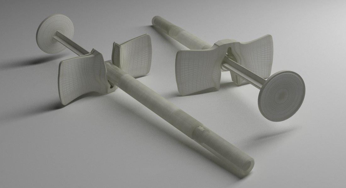 3D syringe model
