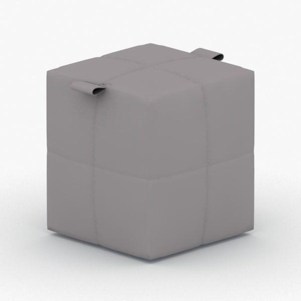 - ottoman 3D model