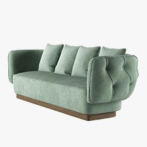 simon sofa opera contemporary 3D model