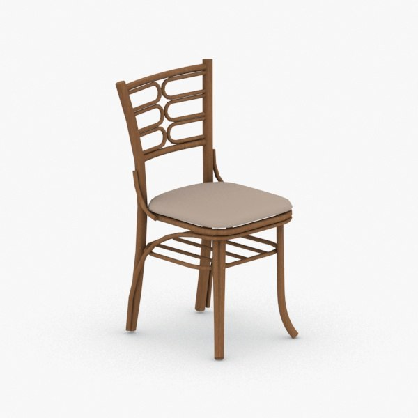 - chair stool 3D
