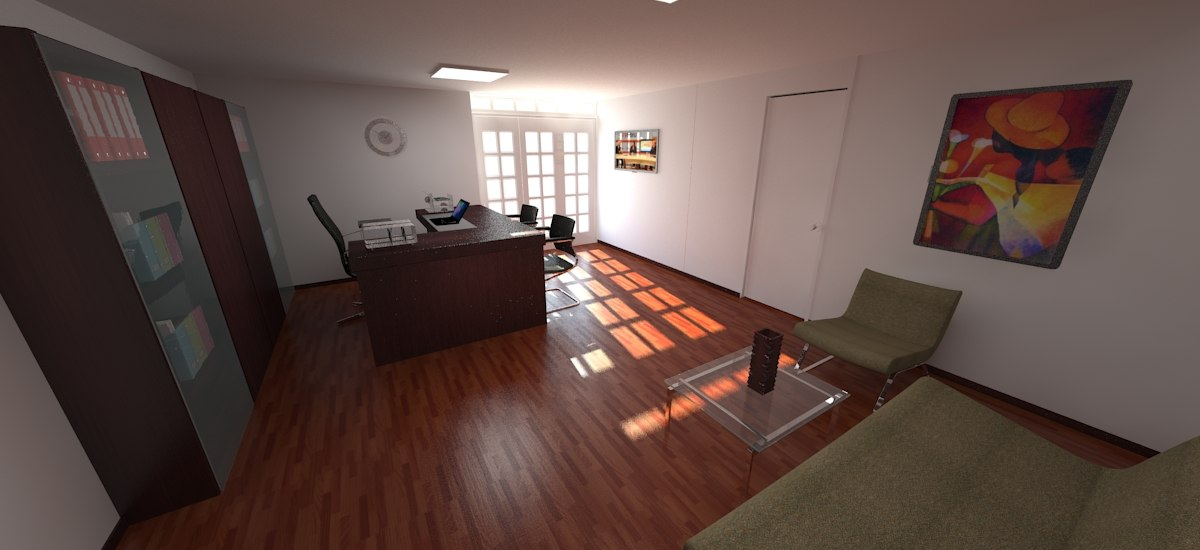 3D work office