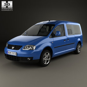 3D volkswagen caddy maxi