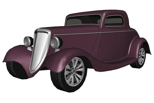 hotrod violet model