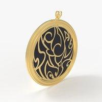 Tribal Design Medallion