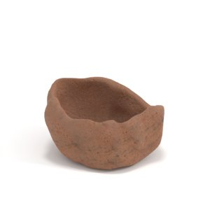 clay 3D model