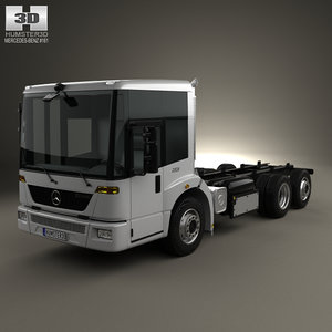 mercedes-benz econic chassis 3D model