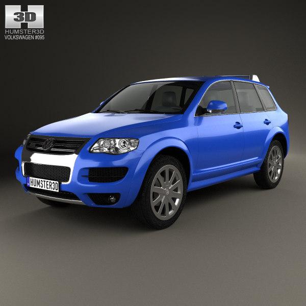 volkswagen touareg r50 3D model