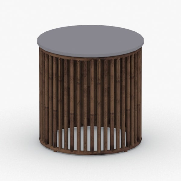 3D model - chair table