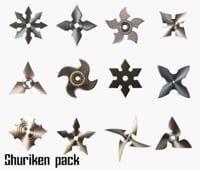 shurikens pack model