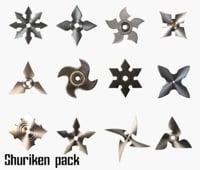 Shurikens pack